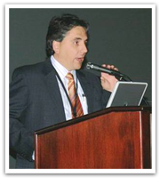 Dr Caplanis presents Keynote speech